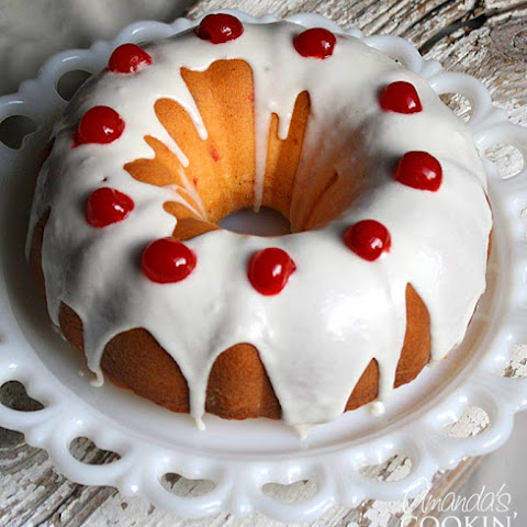 Maraschino Cherry Bundt Cake
