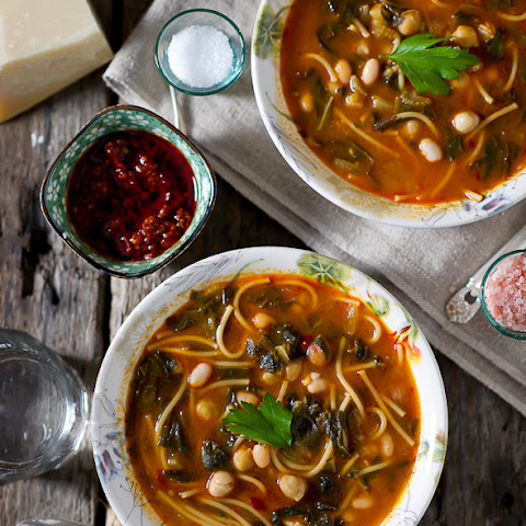 Tunisian Vegetable & Bean Soup