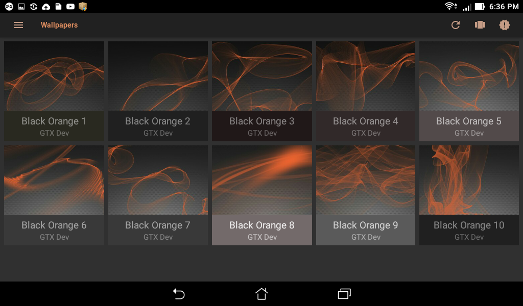 Metallic Orange Icon Pack Screenshot 8