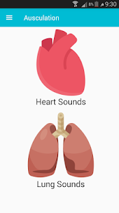 Auscultation ( Heart & Lung Sounds) screenshot for Android