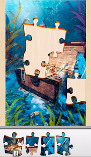 Live Jigsaws - Walk the Plank - screenshot
