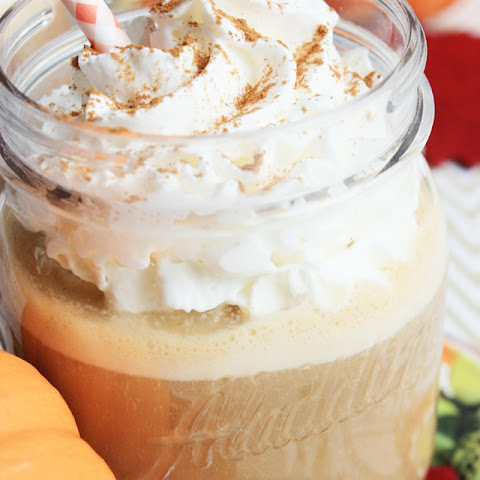 Pumpkin Maple Iced Coffee