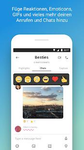Skype – kostenlose Chats & Videoanrufe – Miniaturansicht des Screenshots
