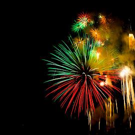 by Abdul Sattar Khokhar - Abstract Fire & Fireworks ( pakistan )