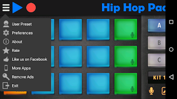 Screenshot of Hip Hop Pads