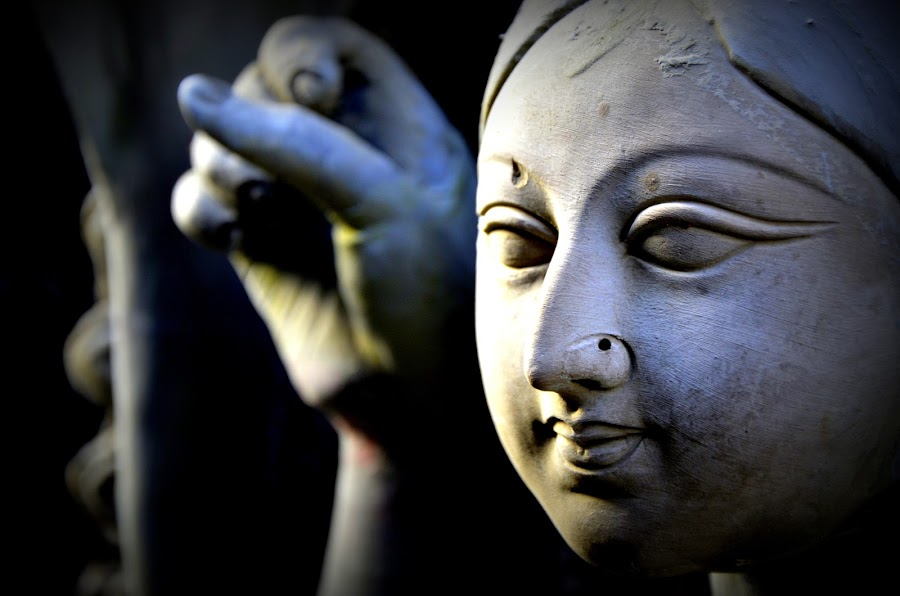 Reflection of Gravity  by Santanu Goswami - Artistic Objects Other Objects ( artistic, artistic objects, durga puja, goddess, durga )