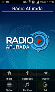 Rádio Afurada - screenshot