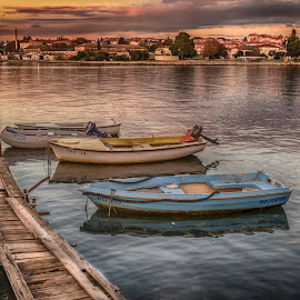 port by Eseker RI - Transportation Boats