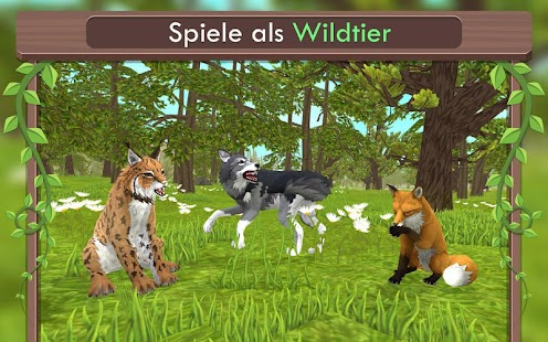 WildCraft: 3D Online-Tiersimulation Screenshot