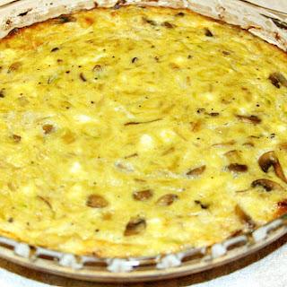 Zucchini Mushroom Onion Quiche Recipes