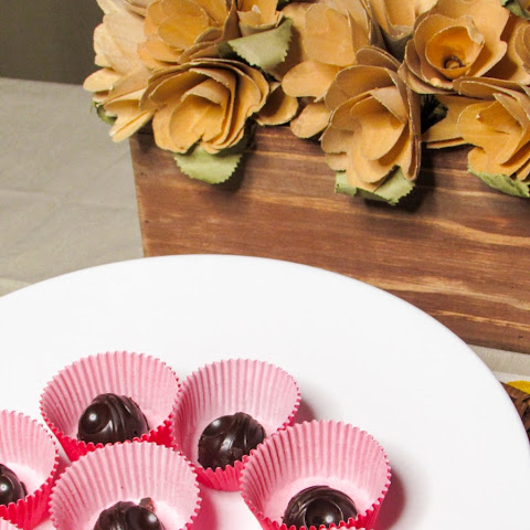 Gluten Free Chocolate Cherry Candies