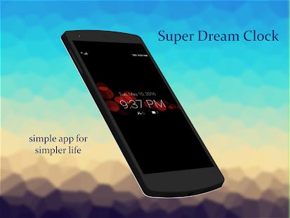 App Super Dream Clock APK for Windows Phone