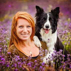 by Lukáš Lang - Animals - Dogs Portraits ( #kennelsideravales #bordercolie #limetka )