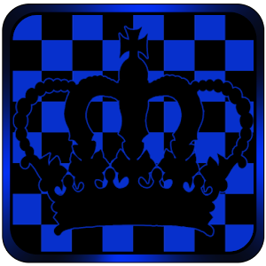 Cover art Blue Chess Crown Go Launcher