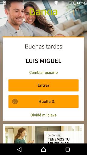 Bankia screenshot 1