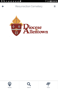 Diocese of Allentown Cemetery - screenshot