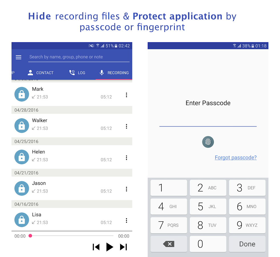 Call Manager: Record & Block Screenshot 5