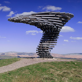 by Christian Rawlinson - Buildings & Architecture Statues & Monuments ( burnley, mike tonkin, lancashire, panopticon, tonkin liu, anna liu, christian rawlinson, singing ringing tree, united kingdom )