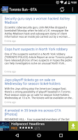 Screenshot of Greater Toronto Area News