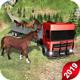 Horse Transport Truck Sim 19 -Rescue Thoroughbred