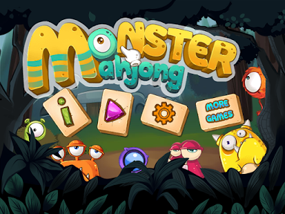 Matching Monster Mahjong - screenshot