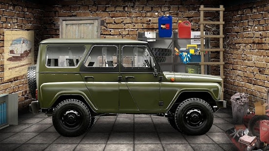 Simulator Driver UAZ Car 3D - screenshot