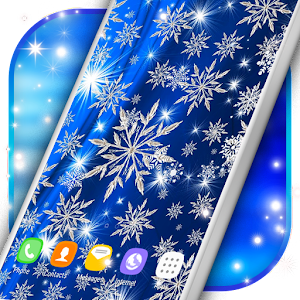 Ice Snowflakes Live Wallpapers Icon