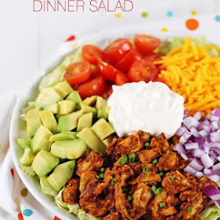 Chicken Taco Dinner Salad