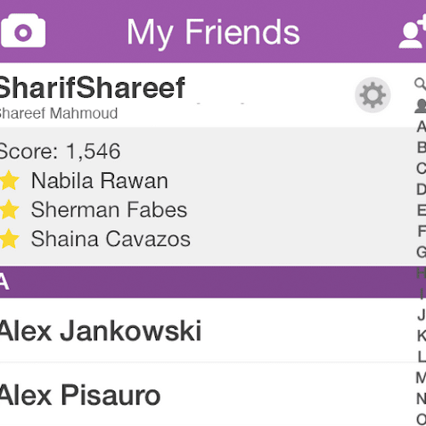 Snapchat's Best Friend Feature Was Only Way To Know Nabila Was Talking To Shareef