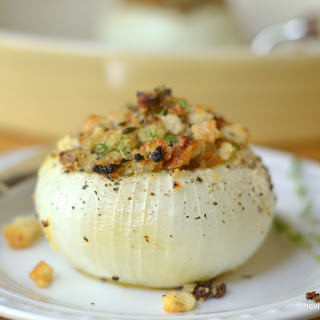 Provencal Style Stuffed Onions