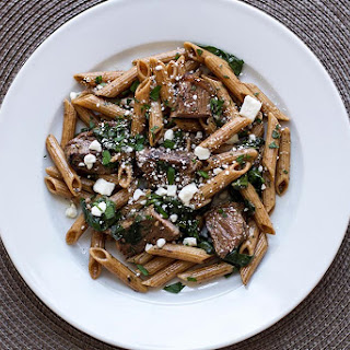 Pasta With Steak Strips Recipes