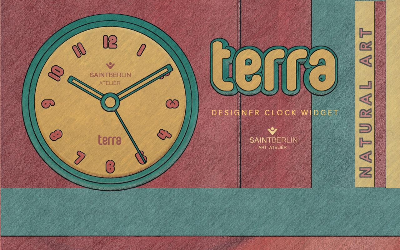 Terra Clock Widget Screenshot 2