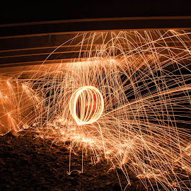 big boom by Andrew Jouffray - Abstract Light Painting