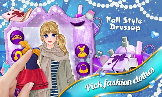 Fall Style: Girls Dressup - screenshot