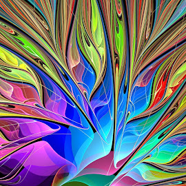 by Chris Stallwood - Illustration Abstract & Patterns ( abstract, abstract curves, art work, 3d fractals, art, line, digital, 3d fractal, pattens, abstract art, lines. patten, attractive, ultra fractal, fractal art, digital art, artistic object, artistic objects, fractal, fractals, design )