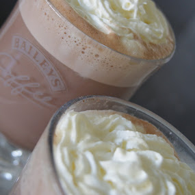 Yummmmm.... by Beth Alexander - Artistic Objects Other Objects ( chocolate, hot chocolate, food, drink, glass, hot, cream )