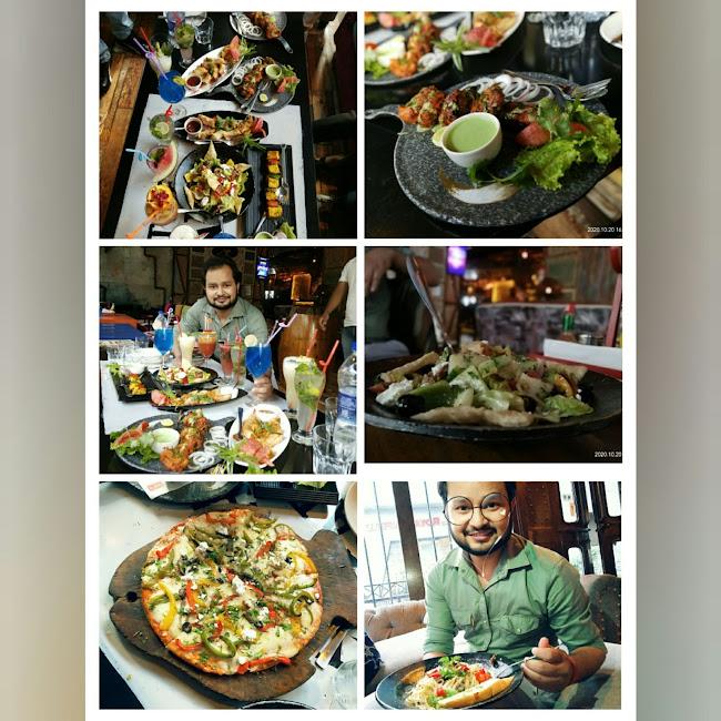 Negi Vipin at The Junkyard Cafe, Saket, New Delhi photos