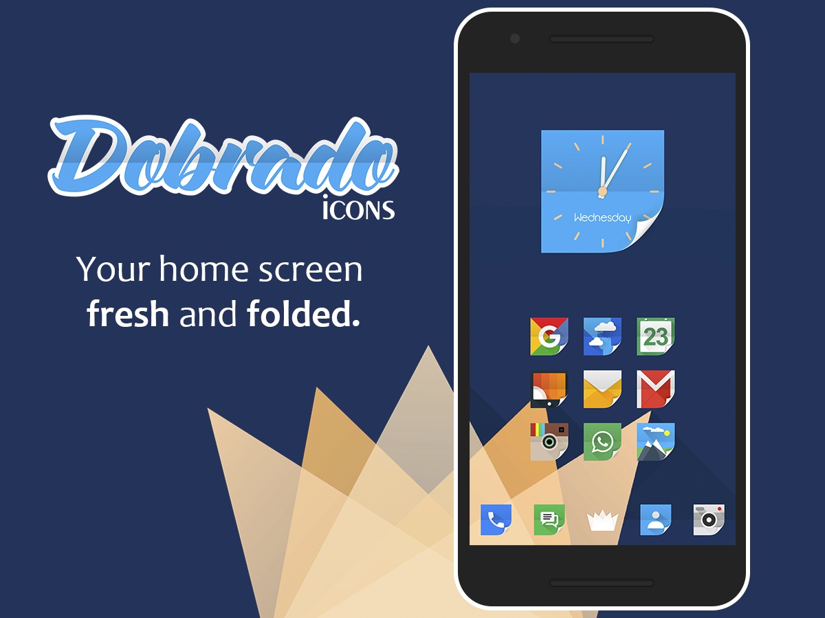 Dobrado - Icon Pack Screenshot