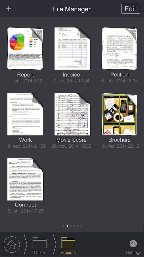 My Scans PRO - PDF Scanner Screenshot 1
