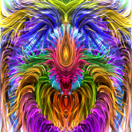 Heart Abstract  by Capucino Julio - Illustration Abstract & Patterns ( abstract, heart, ipad, digital, design )