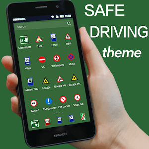 Traffic Signs road Signs theme for Android