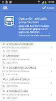 Screenshot of ABANCA