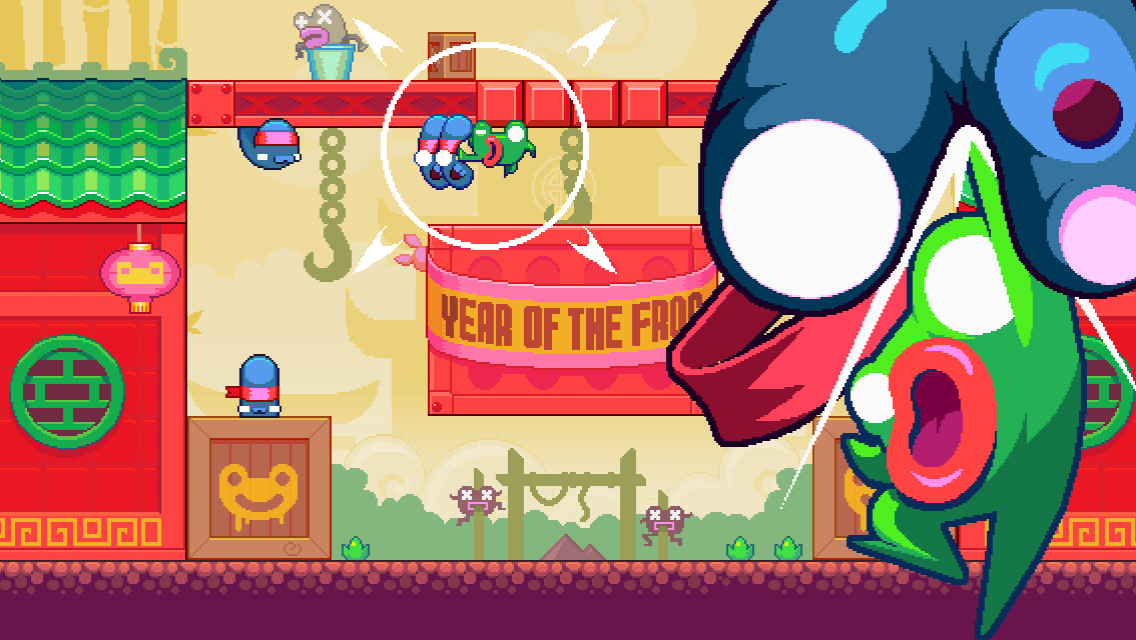 Green Ninja: Year of the Frog Screenshot 0