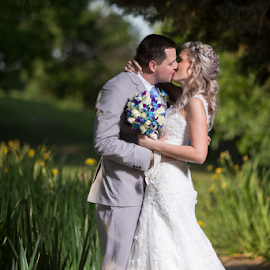 Love at first sight by Lood Goosen (LWG Photo) - Wedding Bride & Groom ( love, kiss, wedding photography, wedding photographers, wedding day, couple, bride and groom, bride, groom, bride groom )