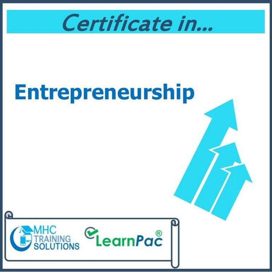 Regal Training Solutions Certificate In Entrepreneurship Skills
