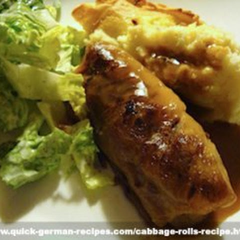 German Cabbage Rolls