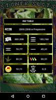 Screenshot of Stoner Slots: Progressive Weed