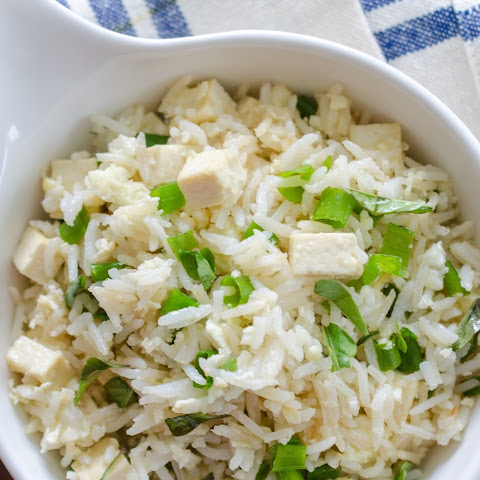 Fried Rice with Thai Basil and Tofu