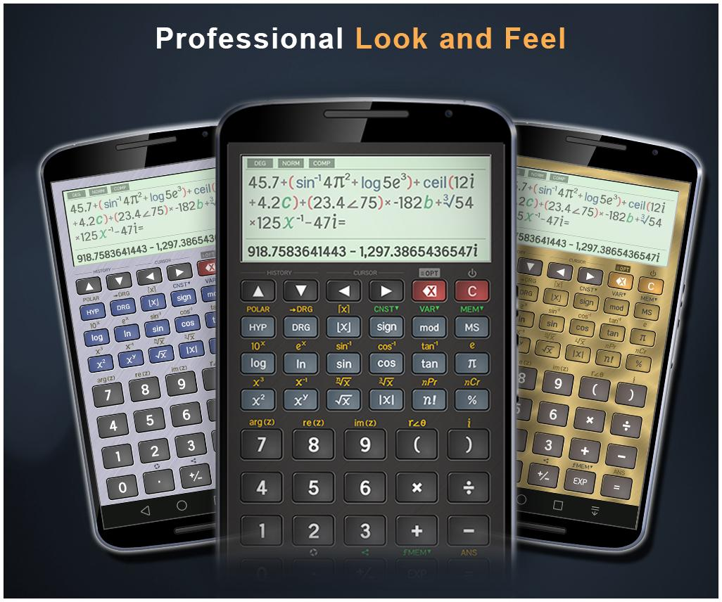 Scientific Calculator Pro Screenshot 1