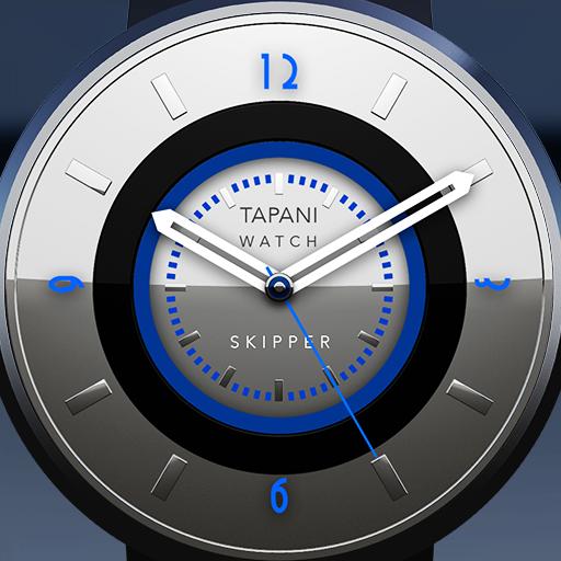 Skipper wear watch face